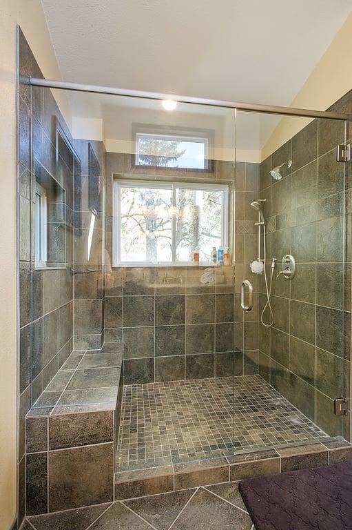Bathroom Shower with Window