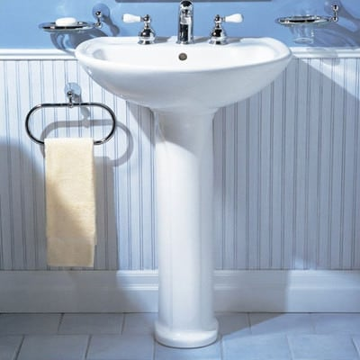 Ceramic Pedestal Sink Example