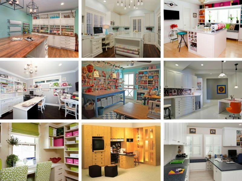 Room Designs Ideas Part - 16: Craft Room Design Ideas