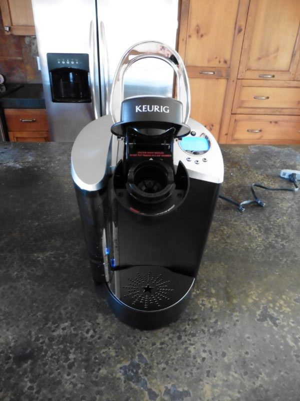 K-Cup Lid Extended on Keurig K60 Elite