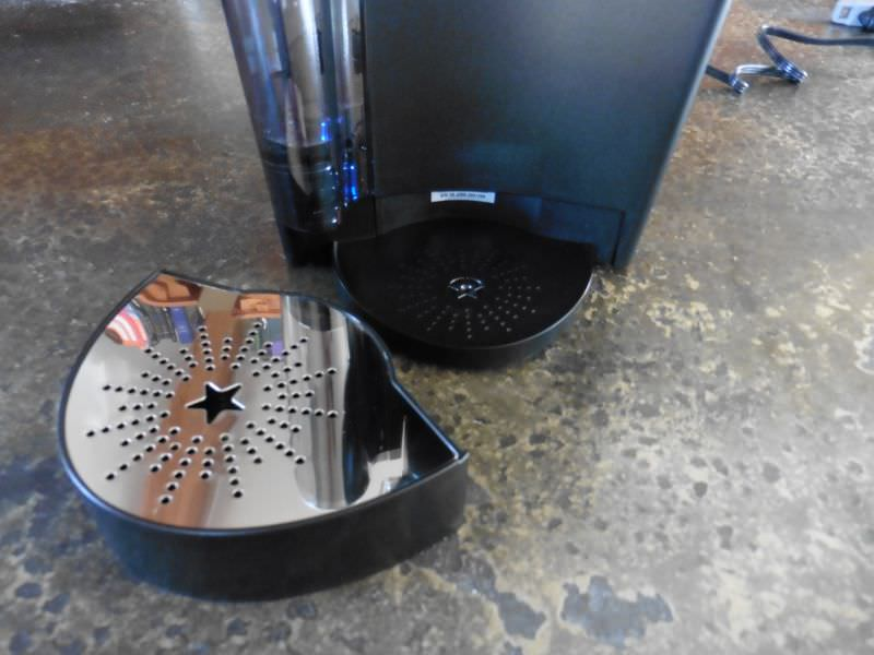 Keurig K60 Spillage Container Removed