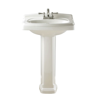 Traditional Pedestal Sink Style