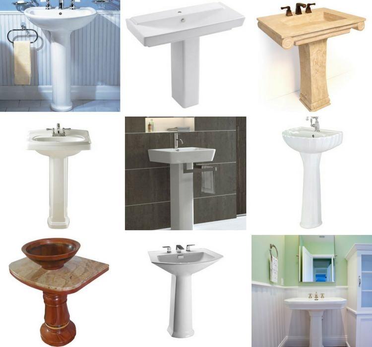 Types of Pedestal Sinks