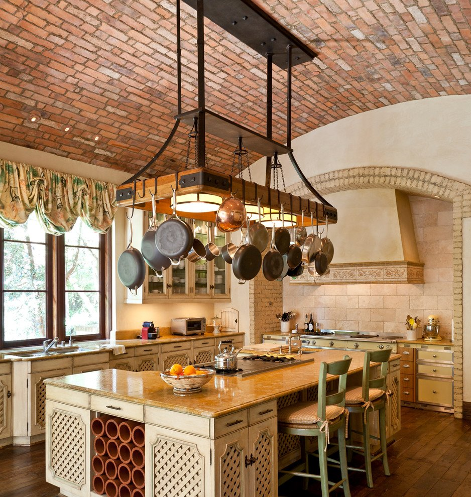 42 Kitchens With Vaulted Ceilings - Home Stratosphere on kitchen vaulted ceiling ideas, galley kitchen ceiling ideas, kitchen island ceiling fans, painted kitchen ceiling ideas, rustic kitchen ceiling ideas, country kitchen ceiling ideas,