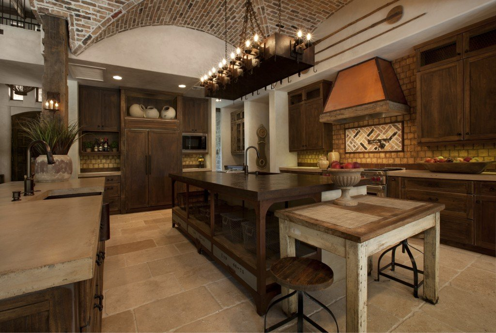 Vaulted ceilings allow you to furnish your home with grand light fixtures as the space allows it.