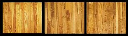 Ash hardwood example