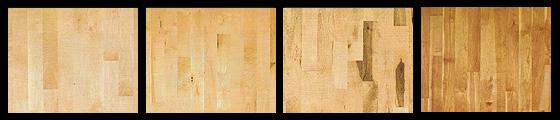 Maple hardwood flooring example