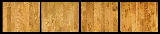 Red oak hardwood flooring example