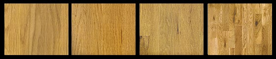 White oak hardwood flooring example