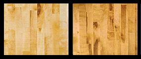 Yellow birch wood flooring example
