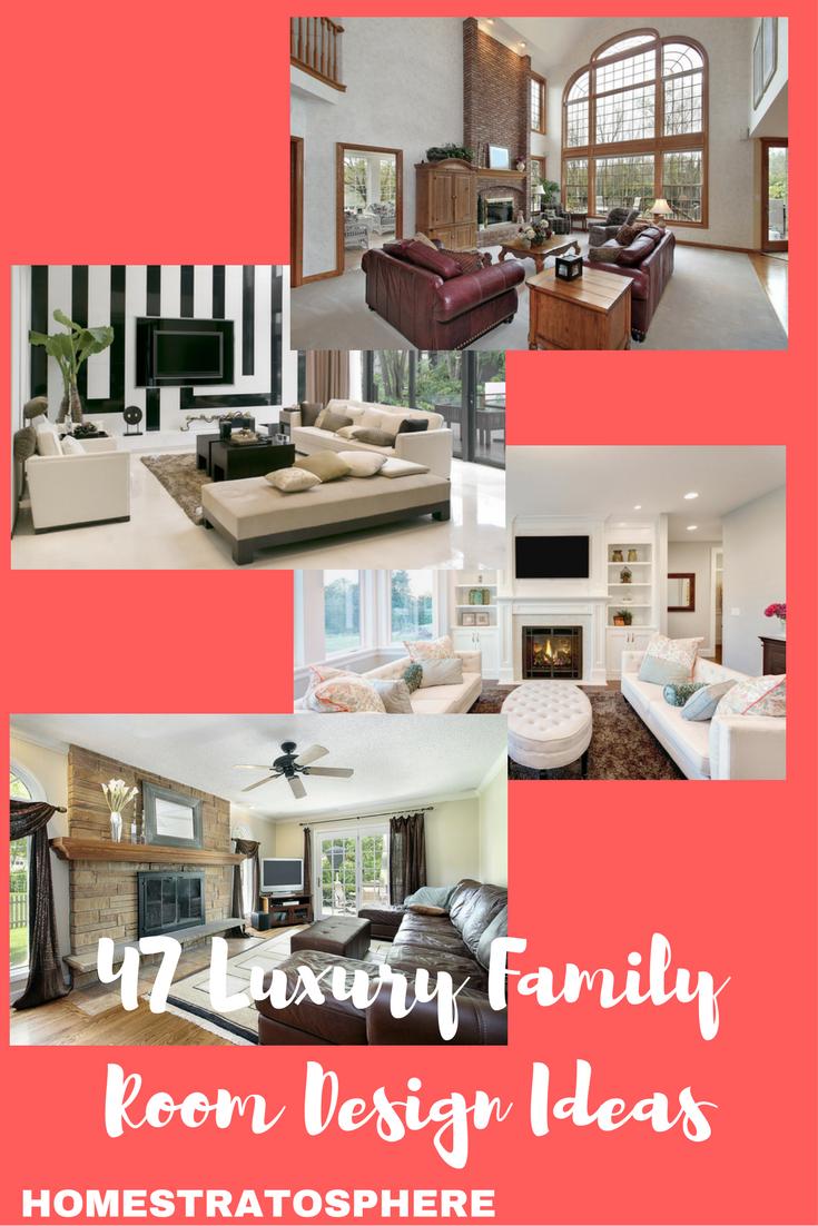Luxury Family Room Design Ideas