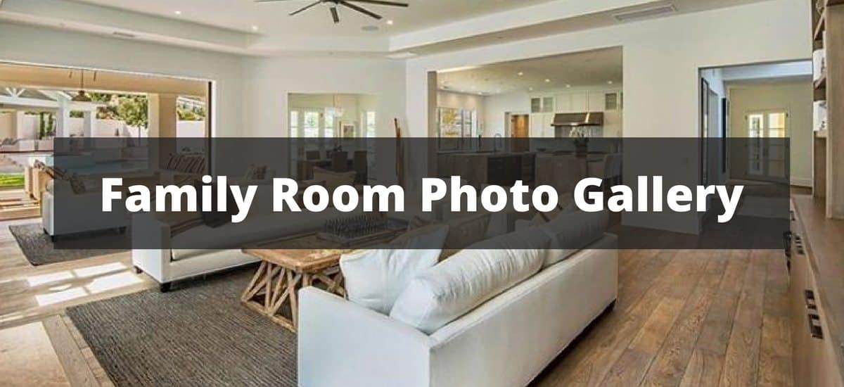 Pics Of Large Family Rooms