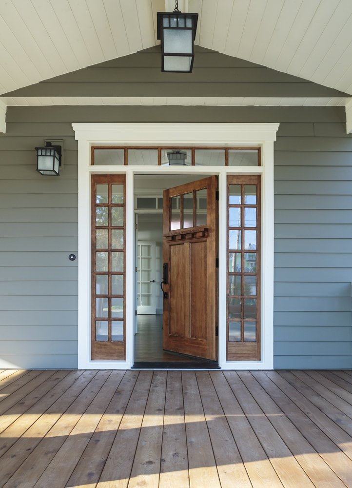 Single Front Door With Sidelites