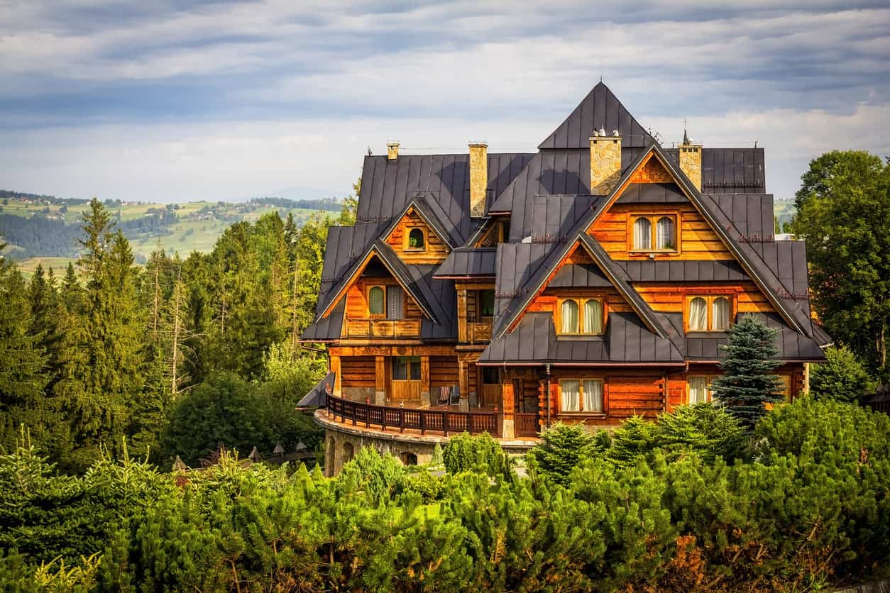 339 Stunning Log Cabin Home & Mansion Design Ideas that Will Make ...