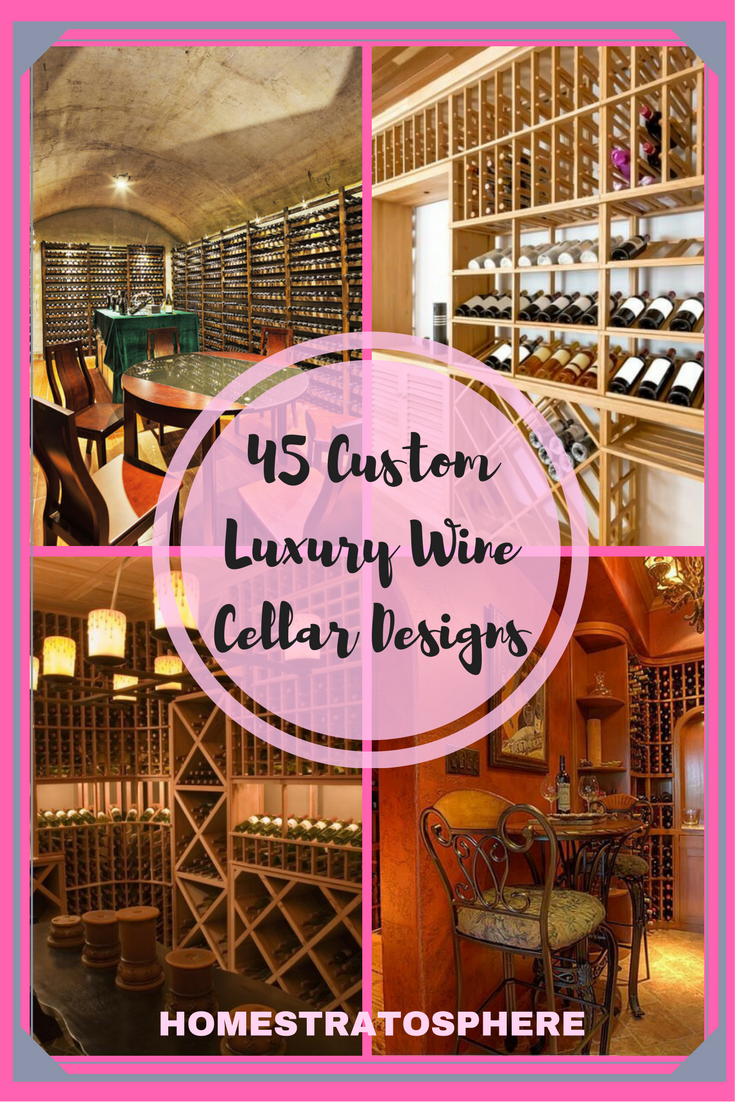 Custom Luxury Wine Cellar Design