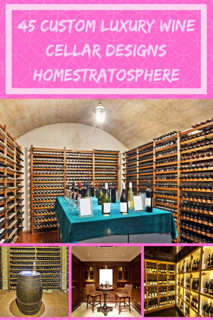 Custom Luxury Wine Cellar Designs
