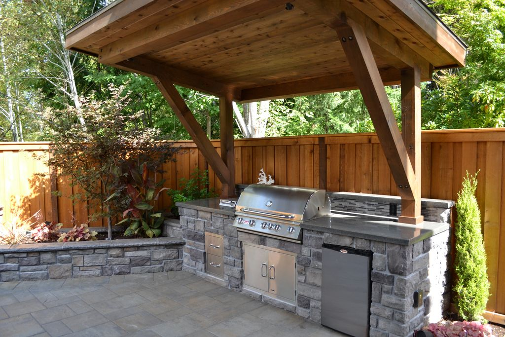 101 Outdoor Kitchen Ideas and Designs (Photos) on ideas for kitchen island, ideas for granite tops, ideas for kitchen cabinets, ideas for yellow kitchen, ideas for white kitchen, ideas for kitchen counter, ideas for countertops kitchen,