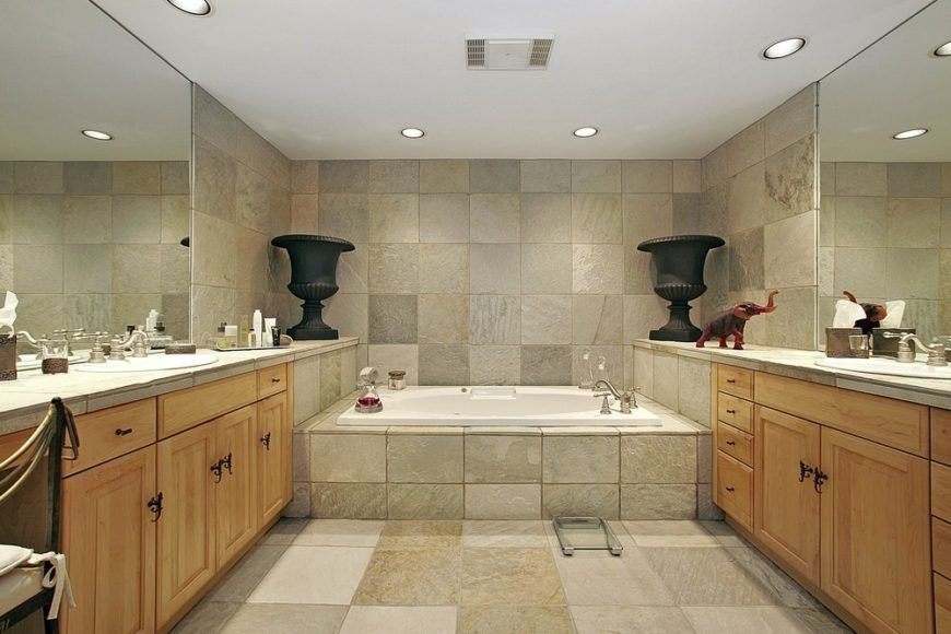 The 13 Different Types of Bathroom Floor Tiles (Pros and Cons) Tile For Bathroom Floor on stick on tiles for bathroom, plastic tiles for bathroom, floor rugs for bathroom, rubber mats for bathroom, tumbled marble for bathroom, limestone tiles for bathroom, metallic tile for bathroom, granite tiles for bathroom, brick tile for bathroom, natural stone for bathroom, floor medallions for bathroom, commercial vinyl flooring for bathroom, shelf paper for bathroom, vinyl tile for bathroom, white tiles for bathroom, backsplash for bathroom, laminate floor for bathroom, black tiles for bathroom, white rugs for bathroom, mosaic tiles for bathroom,