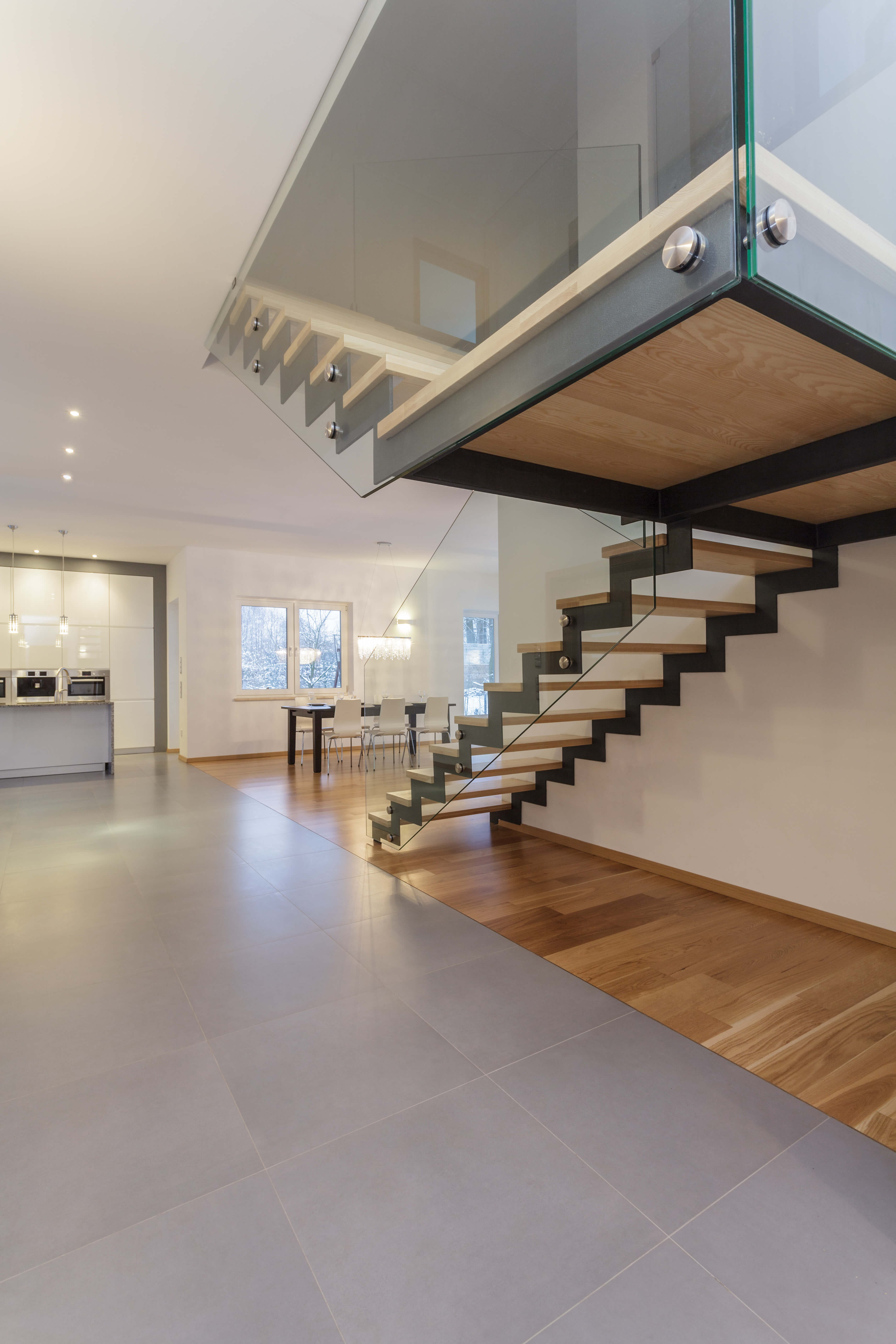 190 spectacular staircase designs photos staircase design guide. Black Bedroom Furniture Sets. Home Design Ideas