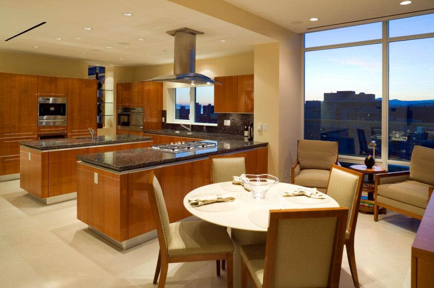 condo kitchen luxury real estate