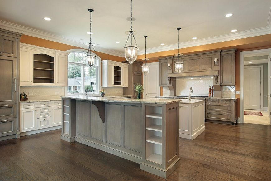 20 Kitchen Designs With 2 Or More Islands