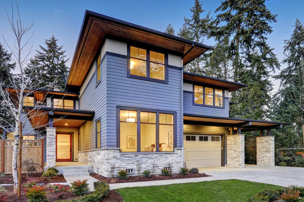 30 different west coast contemporary home exterior designs - Modern Home Exterior Siding