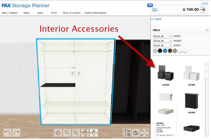 8 Best Free Online Closet Design Software Options For 2018 Reach In And Walk In Closets