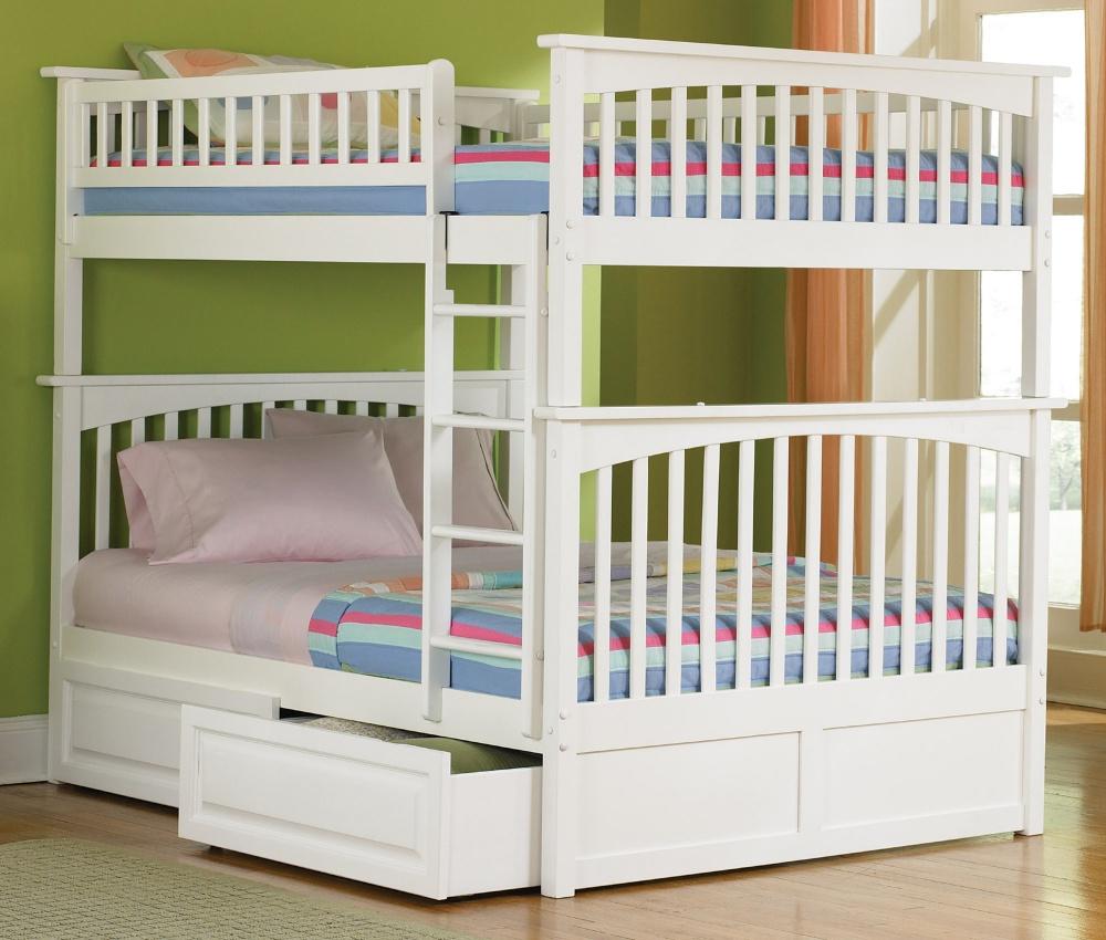 Atlantic Furniture Columbia Full over Full Bunk Bed