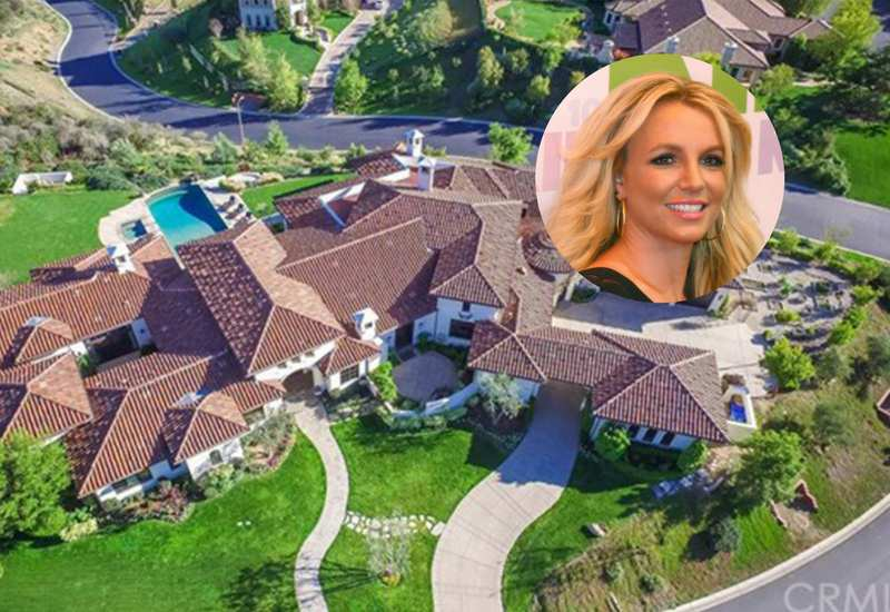 Britney Spears Sells Her Gorgeous Southern California Mansion for $7 Million (31 Photos)