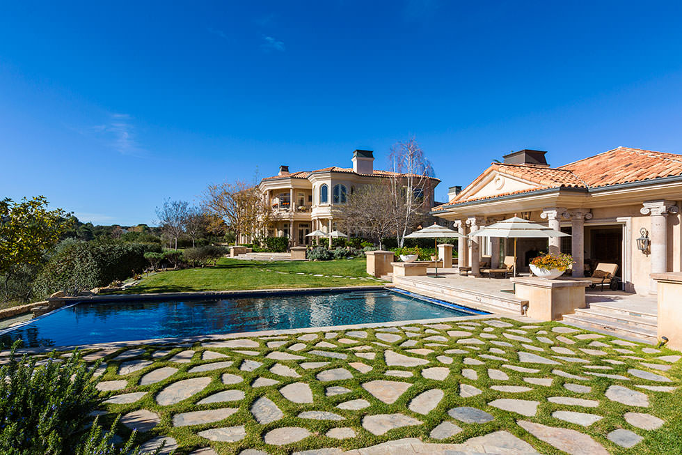 Britney Spears backyard.