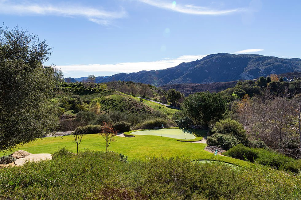 Britney Spears' golf course.