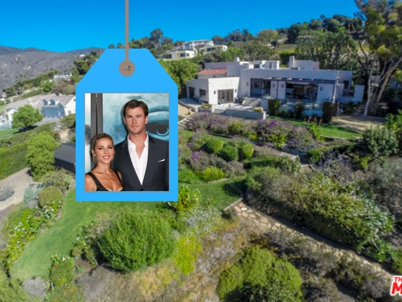 Front of Chris Hemsworth and Elsa Pataky home