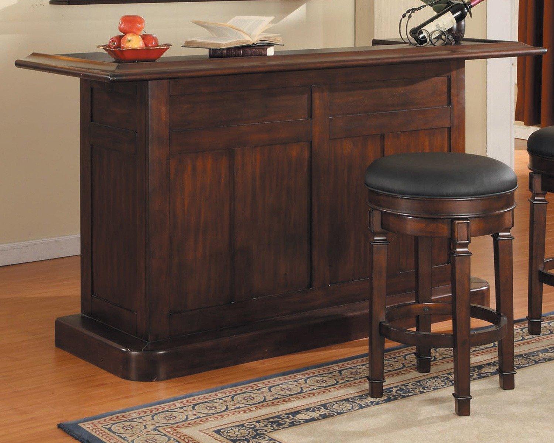 ECI Furniture Nova Bar in Distressed Walnut 1101-35-BT