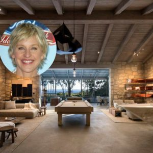 Ellen DeGeneres' Santa Barbara Tuscan Villa is Out of this World… Yours for Only $45 Million (24 Photos)