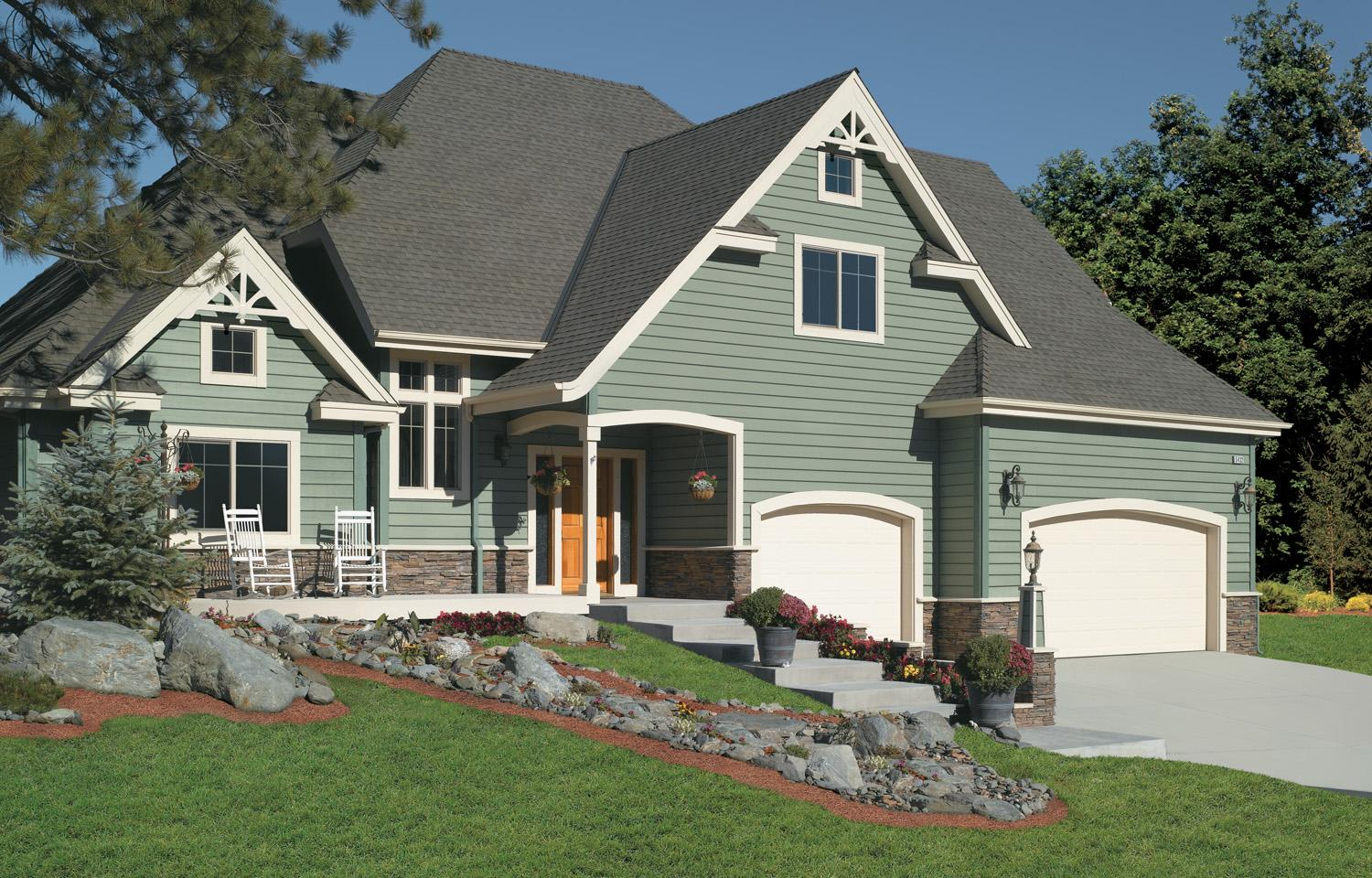 4 types of fiber cement siding for your home pros and cons for Design siding on my house