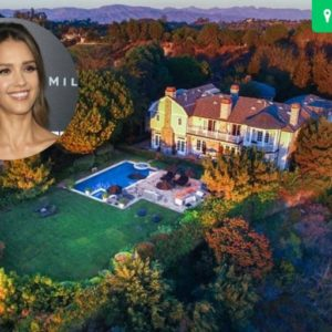 Jessica Alba's $10 Million Beverly Hills Estate (What a View – 28 Photos!)