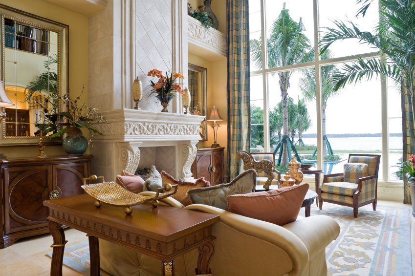 80 Mediterranean-Style Living Room Ideas (Photos)