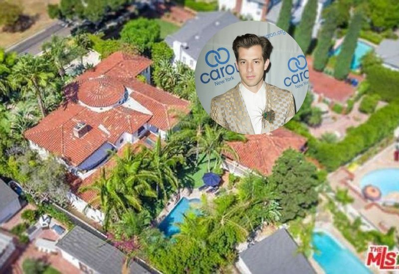 Mark Ronson's 5,218 Sq. Ft. Spanish Style Pad w/ Beautiful Grounds (34 Photos)