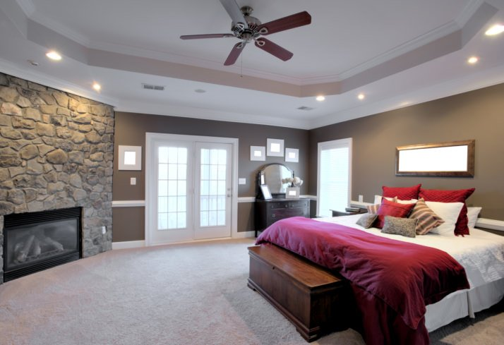 101 Primary Bedrooms with Recessed Lights (Photos)