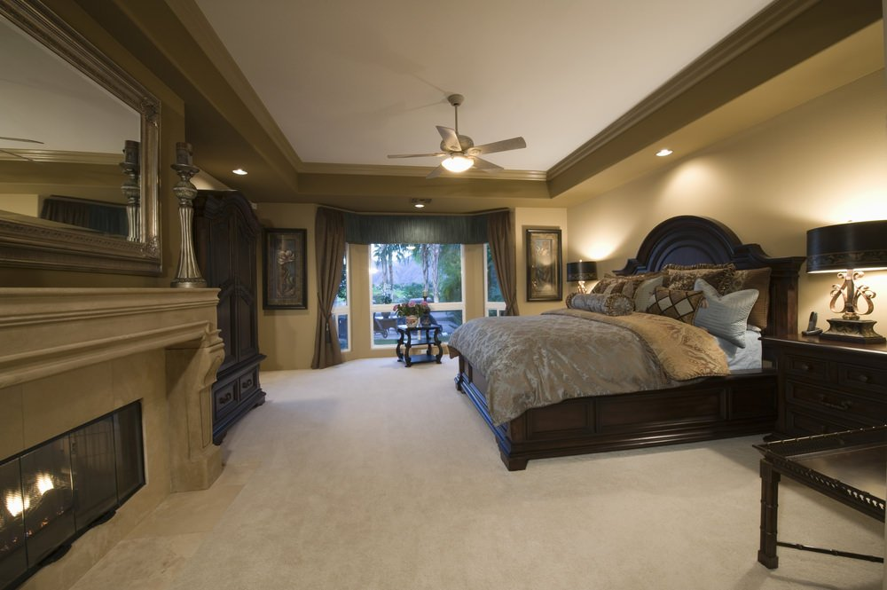 fireplace in master bedroom 75 impressive master bedrooms with fireplaces photo gallery 15264