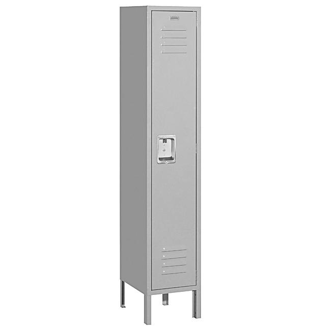 ingle-tier-Grey-Standard-Lockers