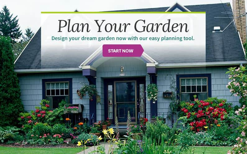 Better Homes & Gardens Garden Design Tool interface
