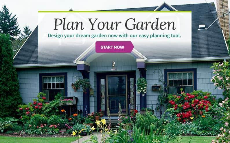 Better Homes & Gardens Garden Design Tool interface