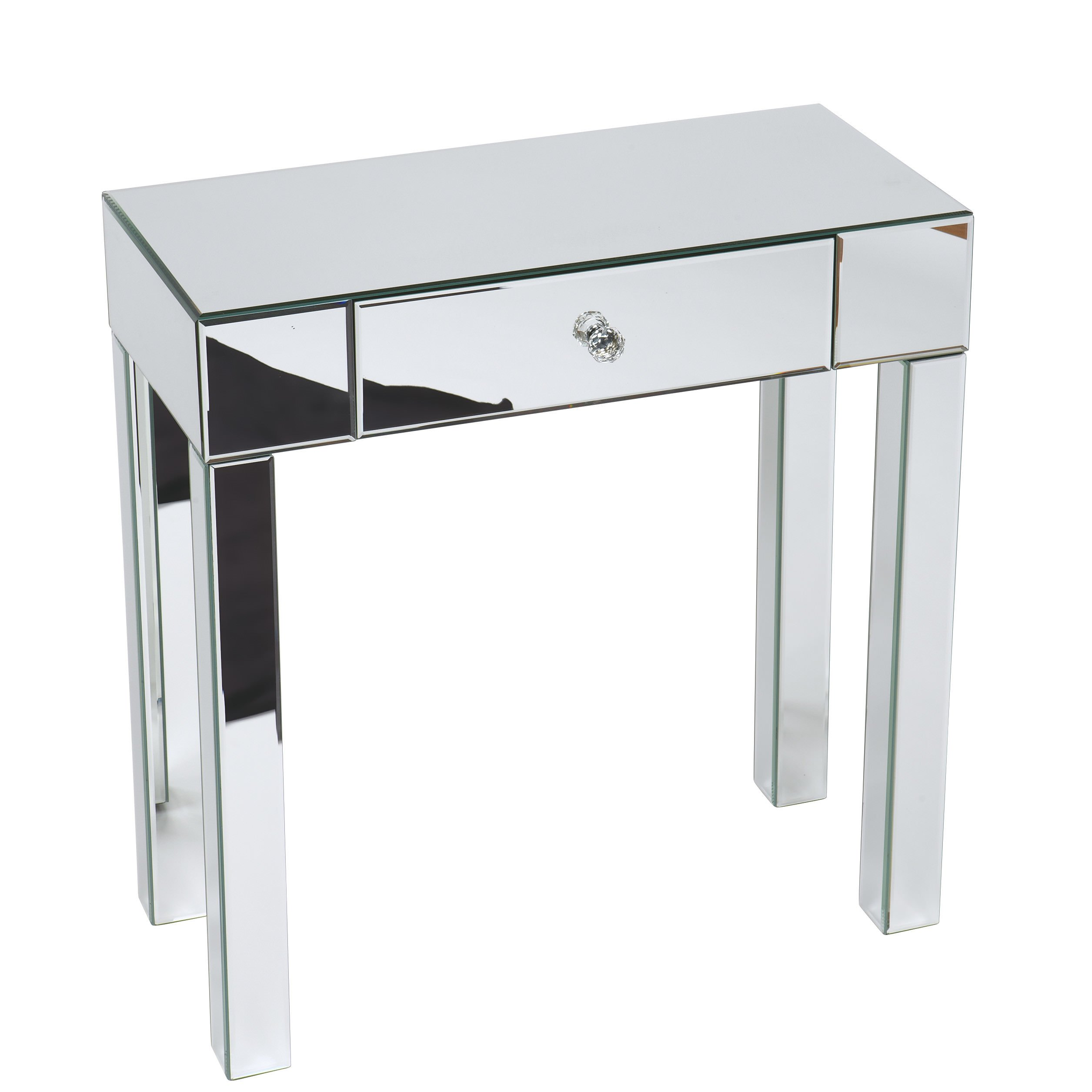 Mirrored foyer table photo