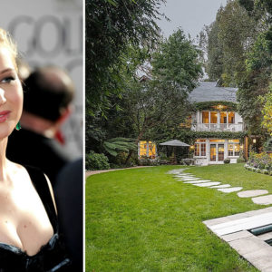 Jennifer Lawrence's Gorgeous Home (Formerly Owned by Jessica Simpson)(14 Photos)