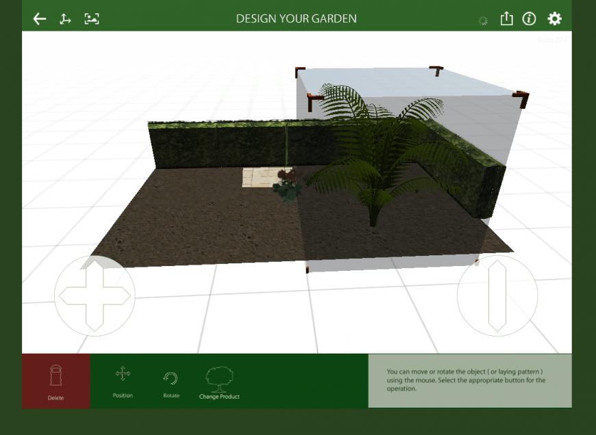 Marshalls Garden Visualiser 3D feature