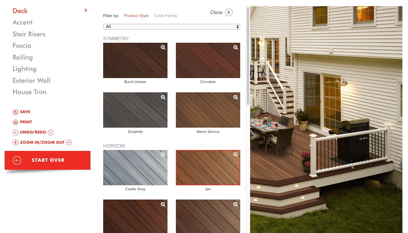 fiberon deck visualizer software