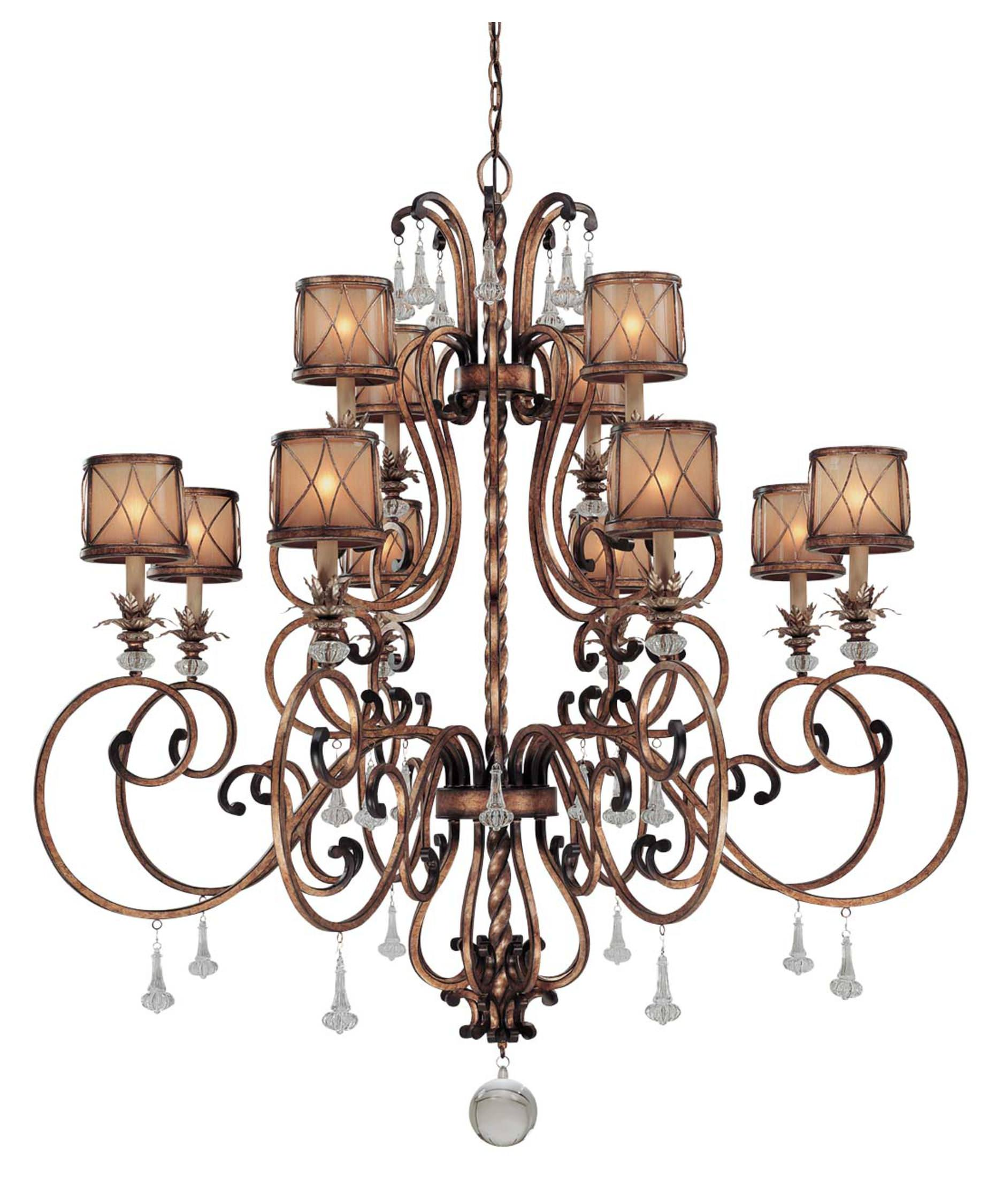34 chandelier styles and shapes for your home - Popular chandelier styles ...