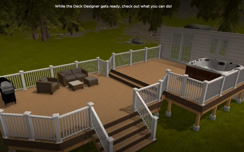 I love decks and patios. I don't have a preference; I think it depends on  your yard and home as to what works best. Obviously, if you need something  ... - 14 Top Online Deck Design Software Options In 2018 (Free And Paid)