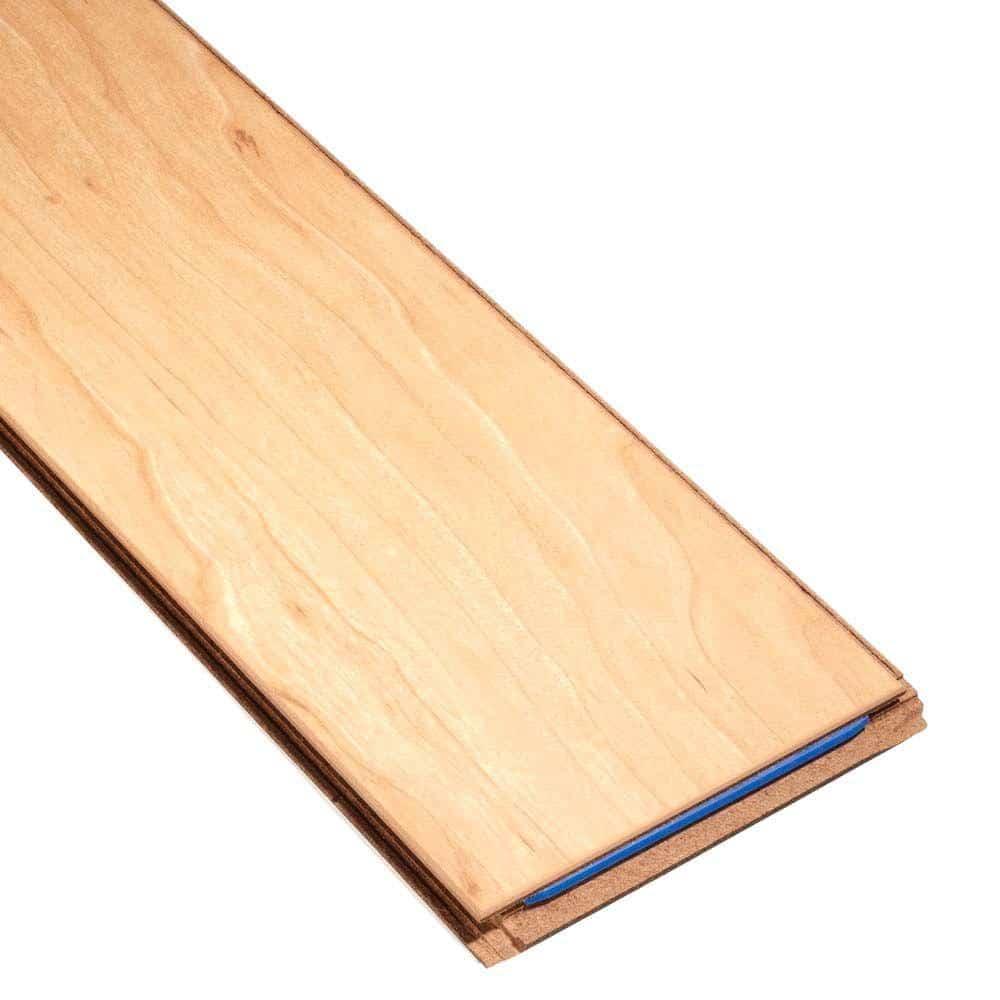 Beveled laminate floor plan